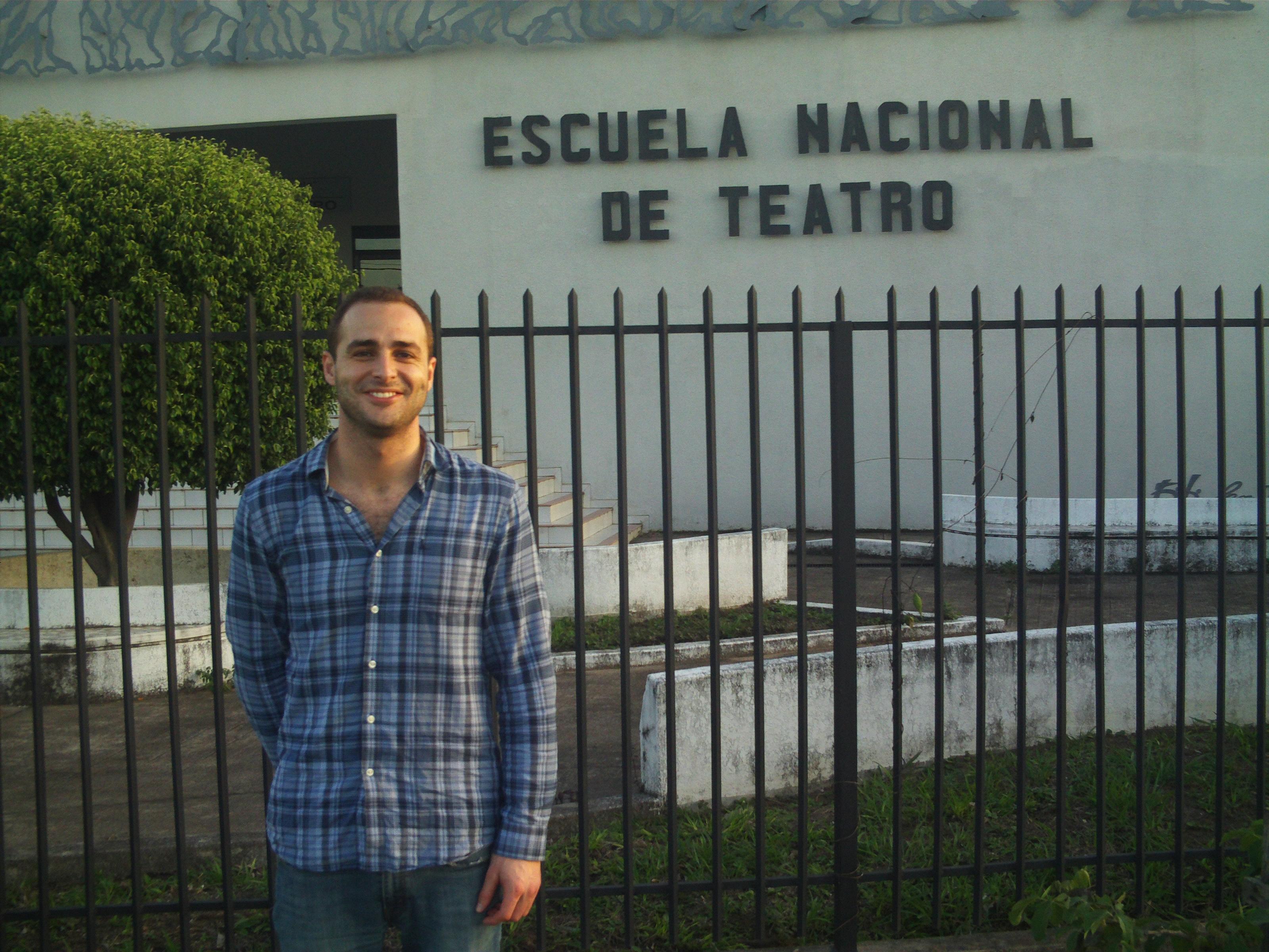 Escuela Nacional de Teatro situada en la