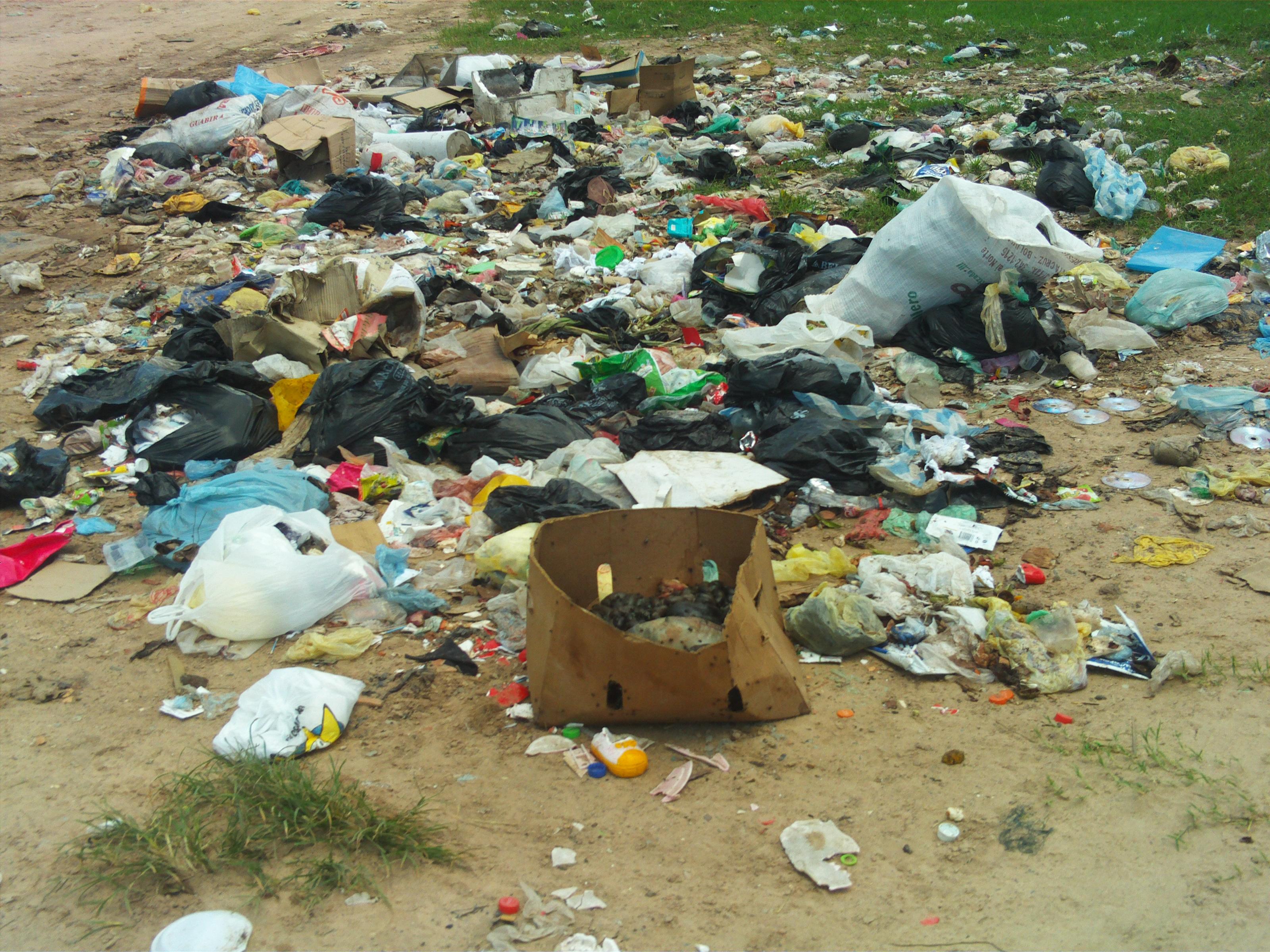 Otra zona de basuras del