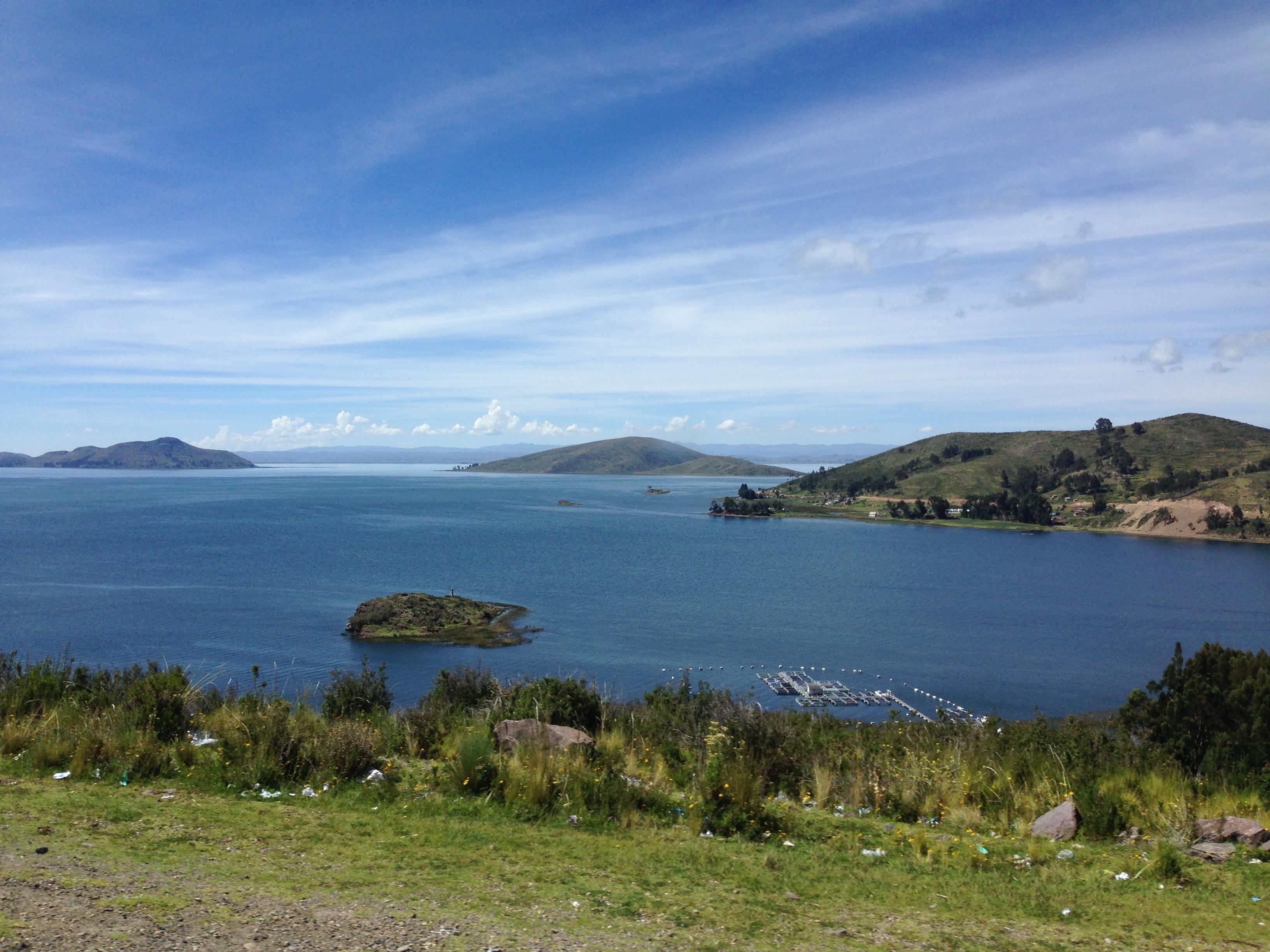 Vistas del Lago Titicaca