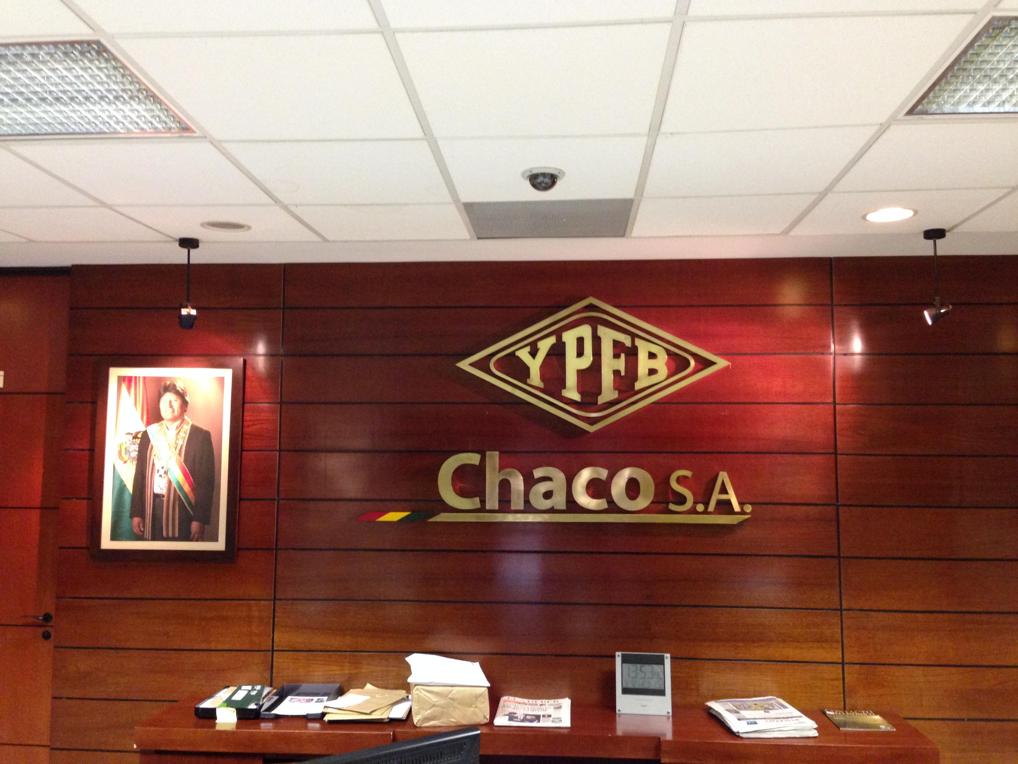 Sede social de YPFB Chaco S.A. (Yacimientos Petrolíferos Fiscales Bolivianos)