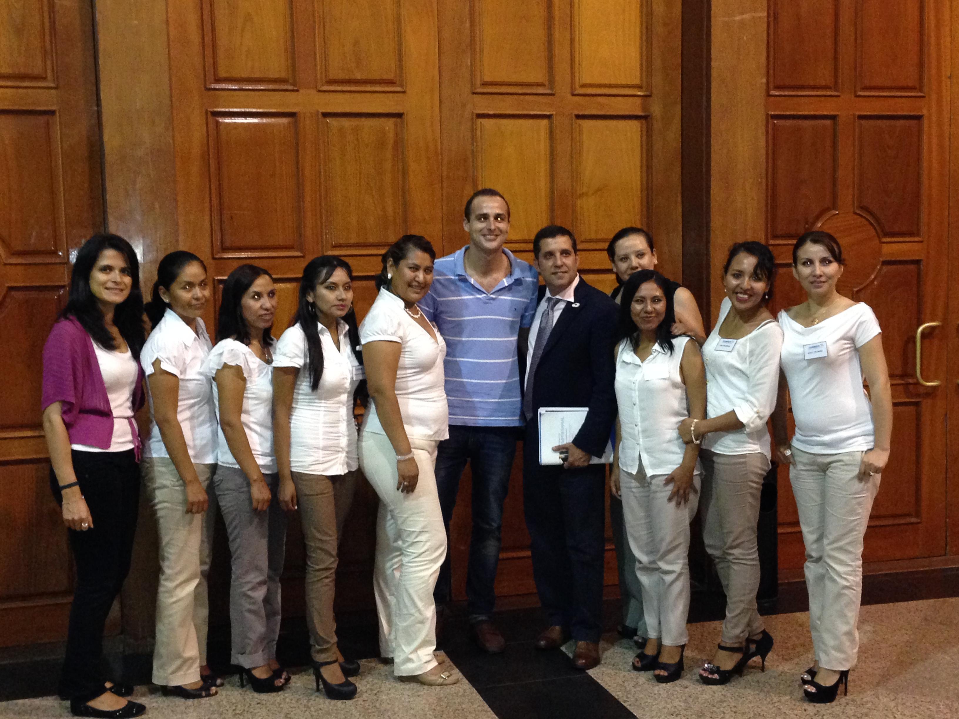 Con uno de los ponentes de la tarde, el Dr. José Manuel Figueroa González (Profesor de la Escuela de Negocios ESADE de Barcelona)