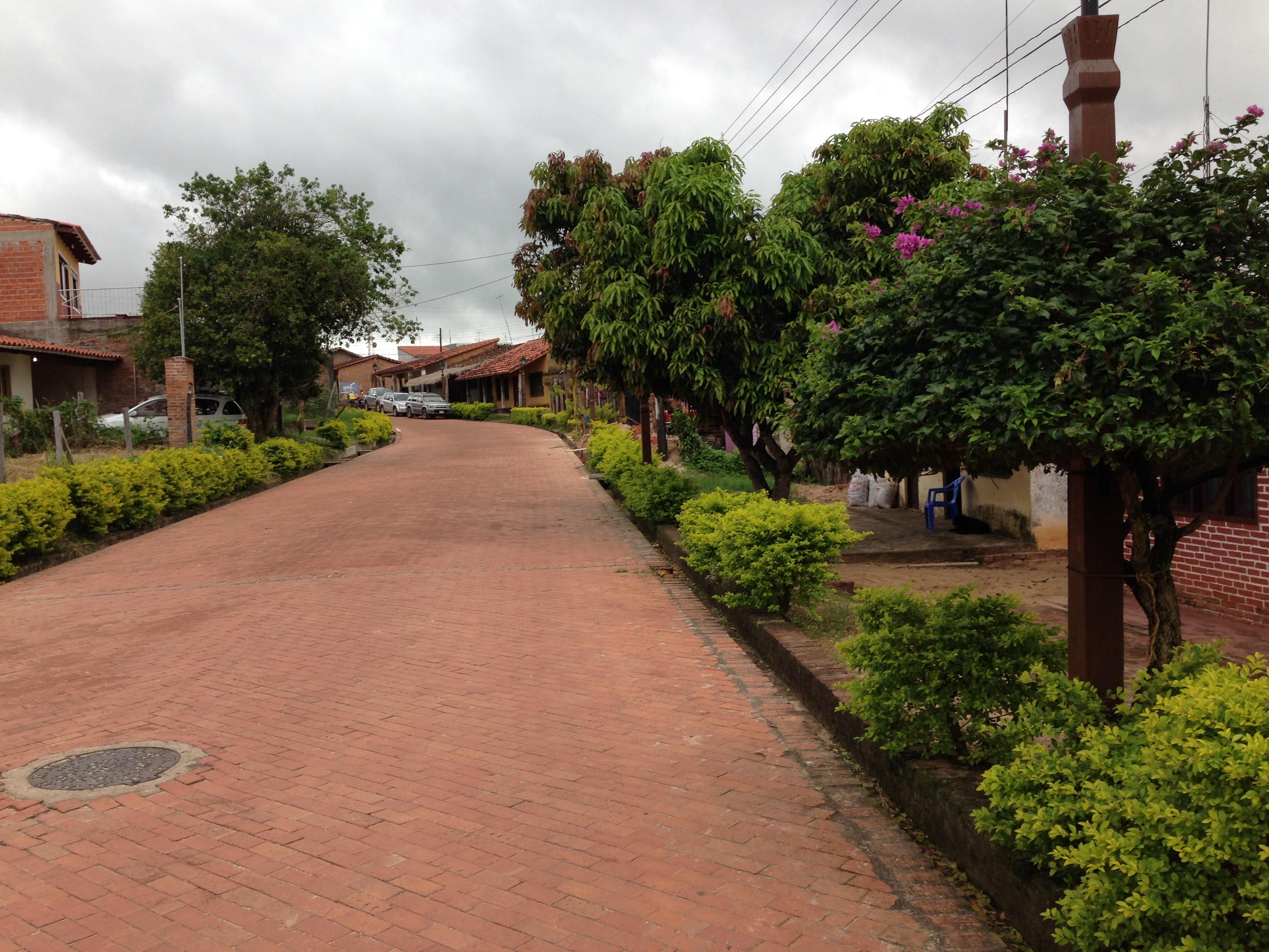 Calle típica de Buenavista