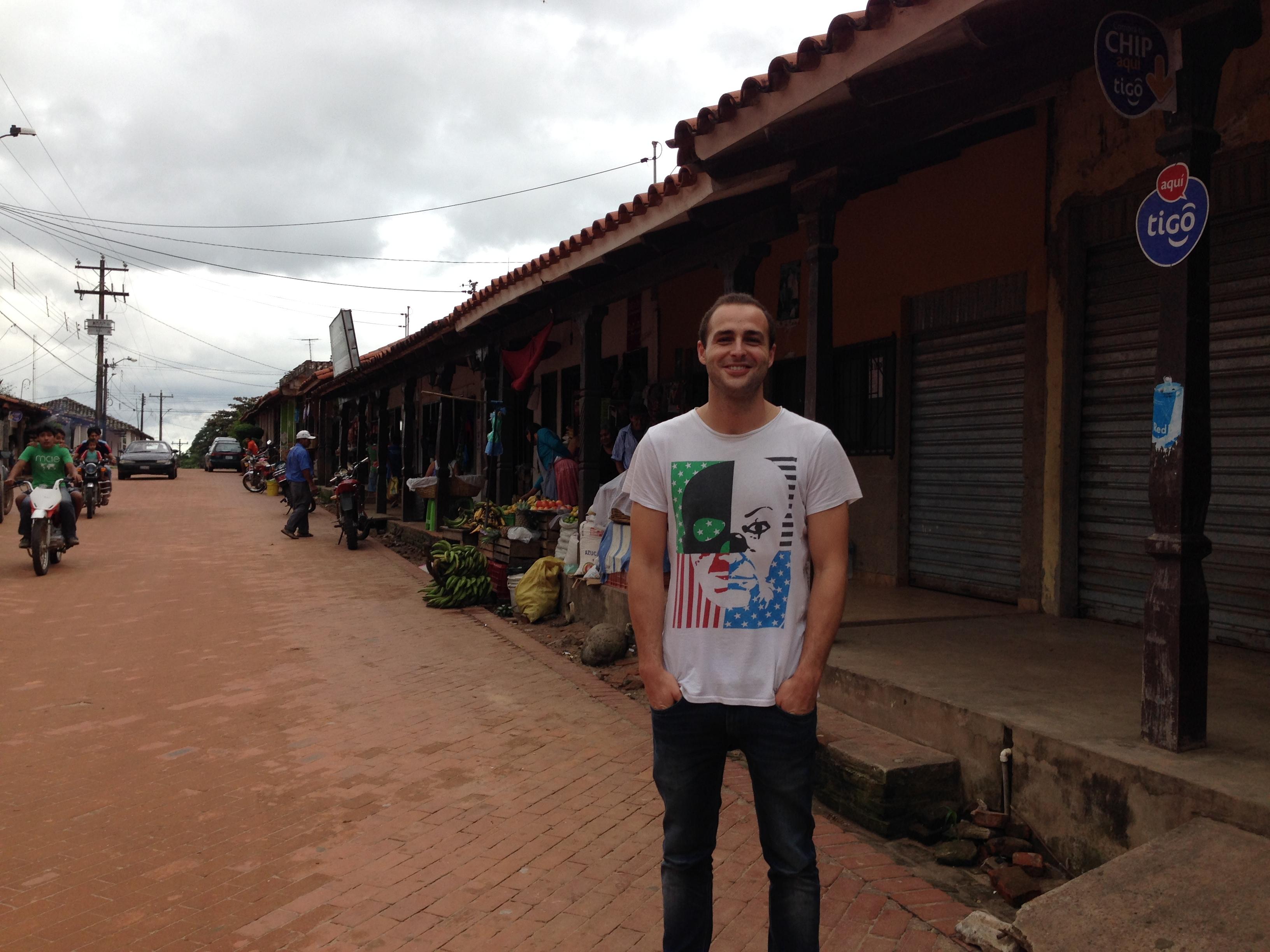 Una de las calles de Buenavista