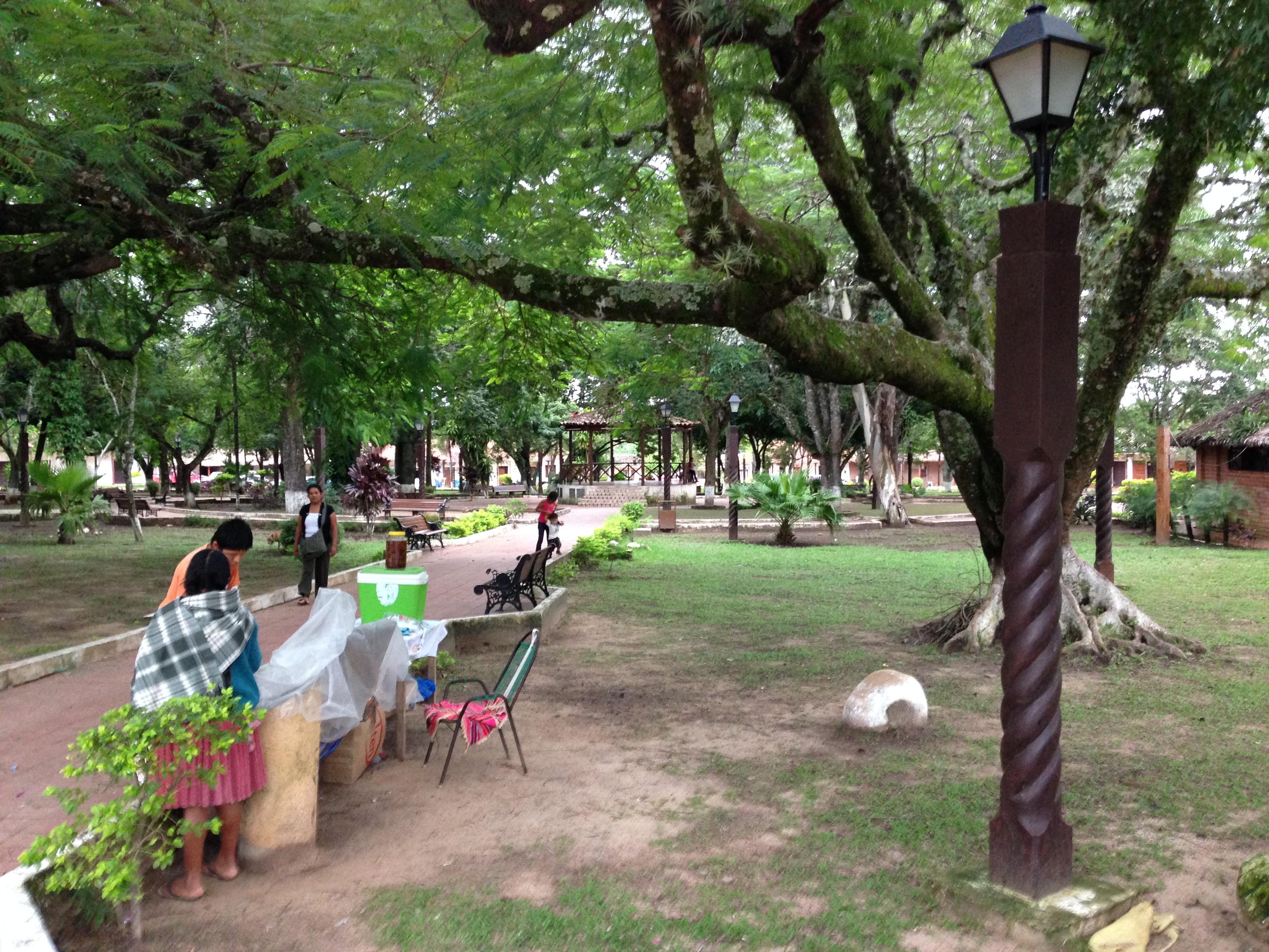 La Plaza principal de Buenavista