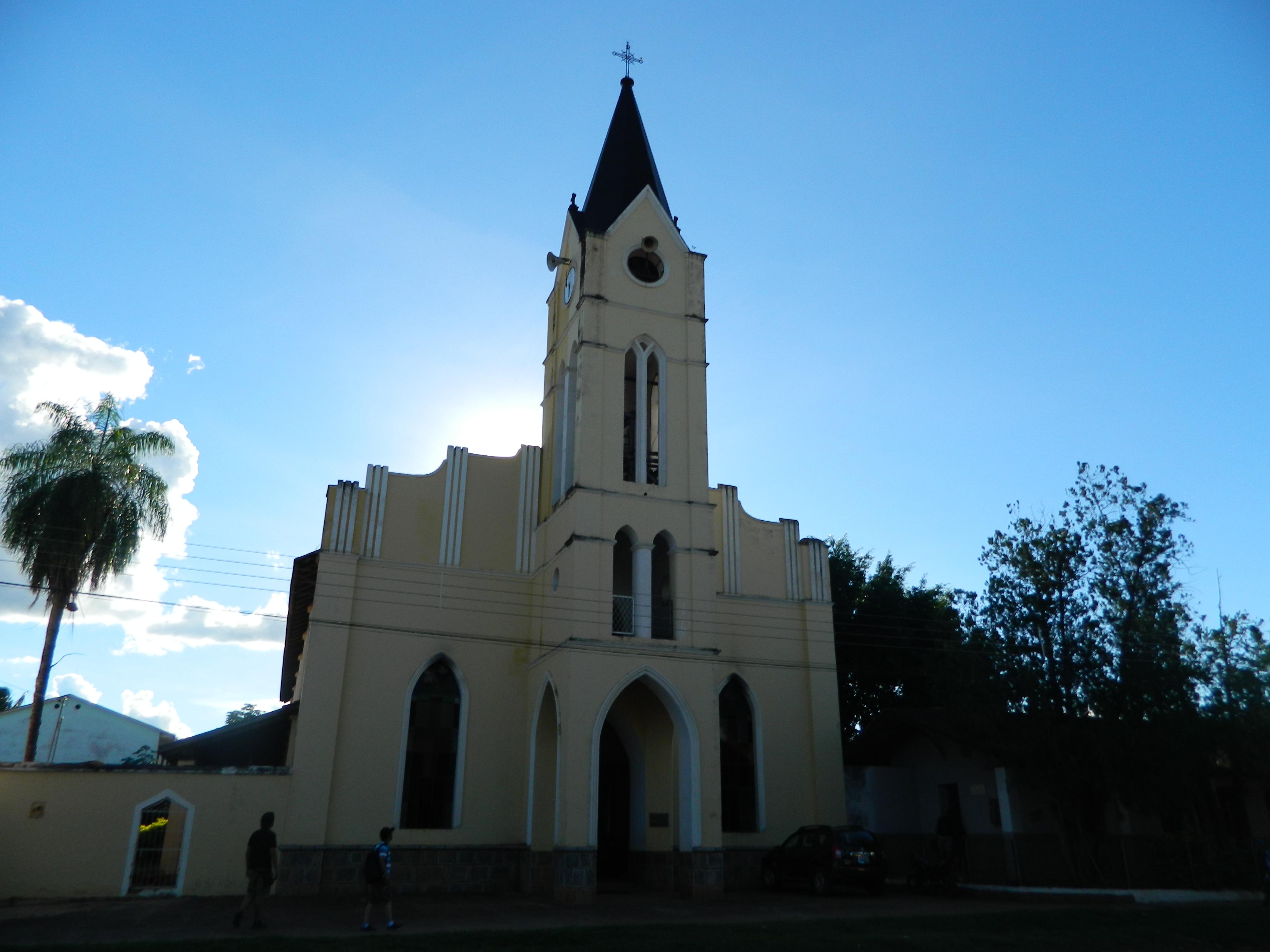 Iglesia de Roboré (perteneciente a la provincia de la Chiquitania)
