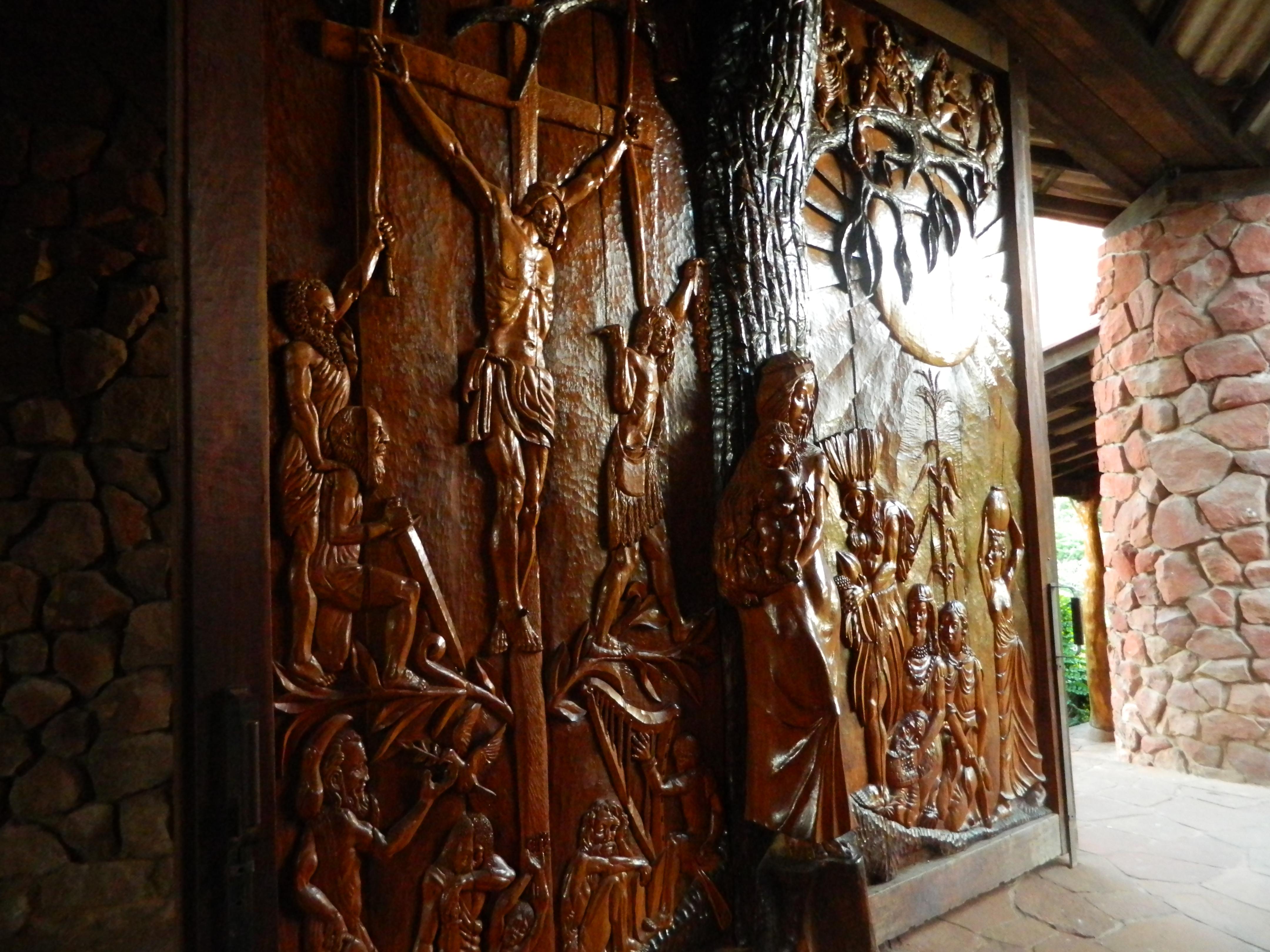 Puerta de la Iglesia del Santuario