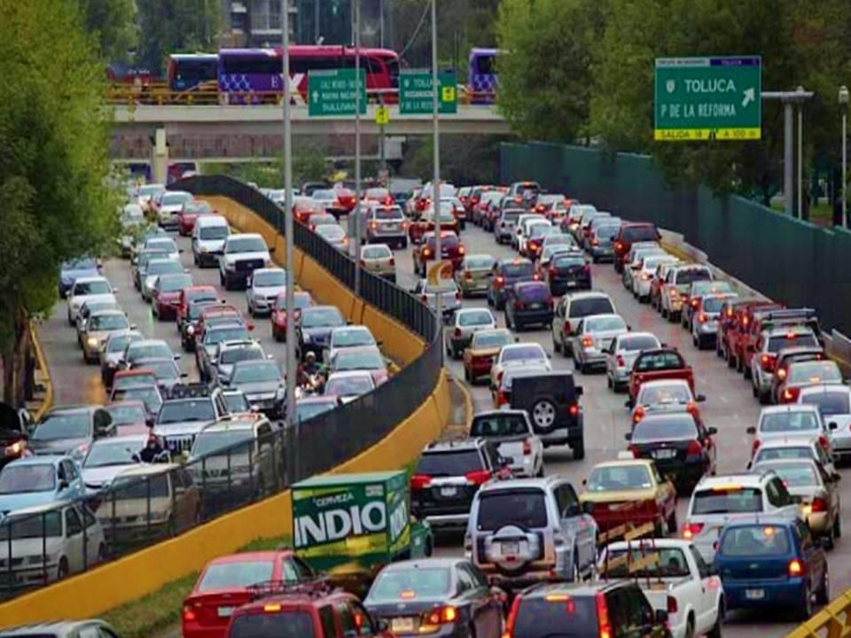 Tráfico en México Ciudad