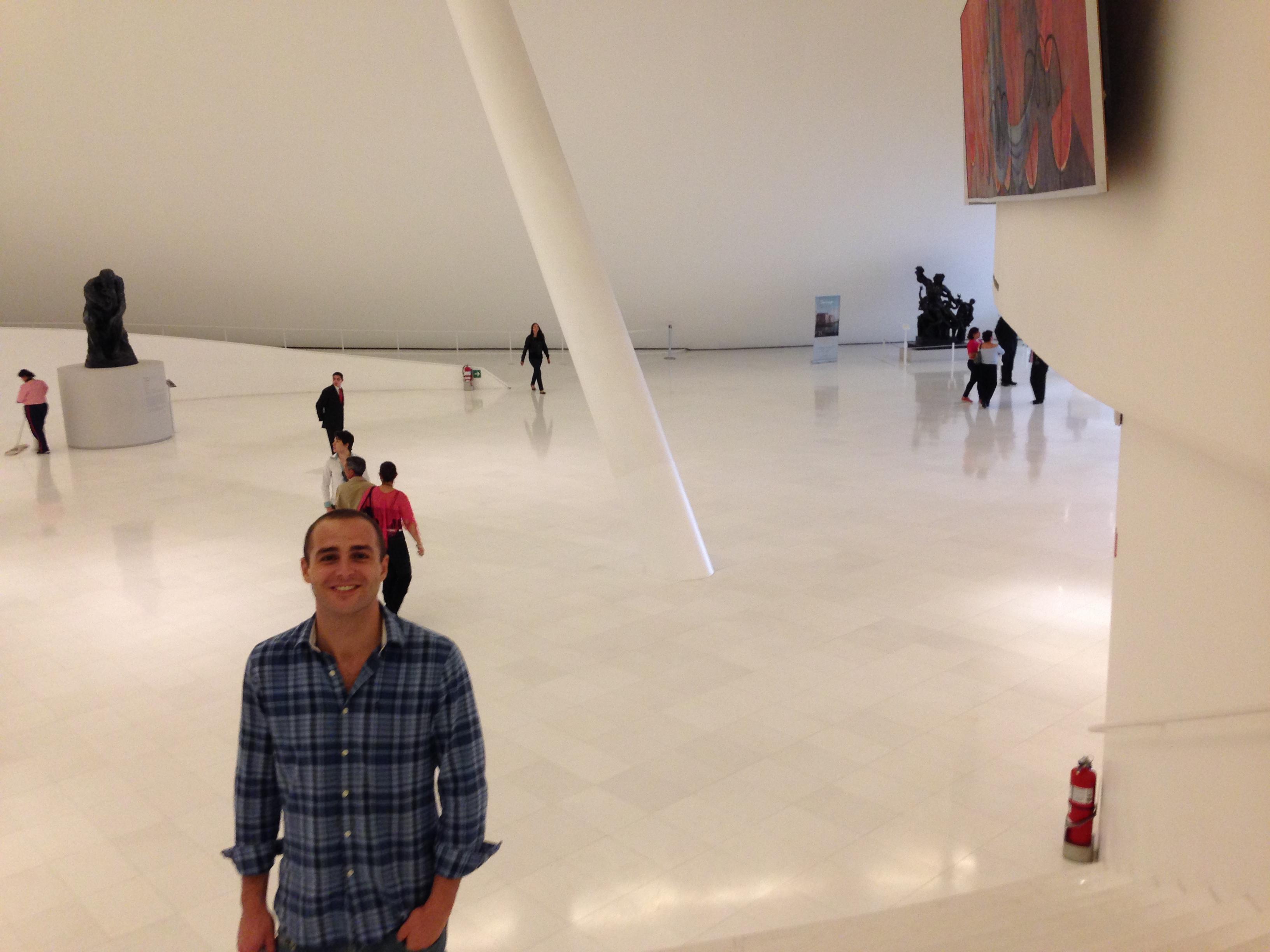 En el interior del Museo