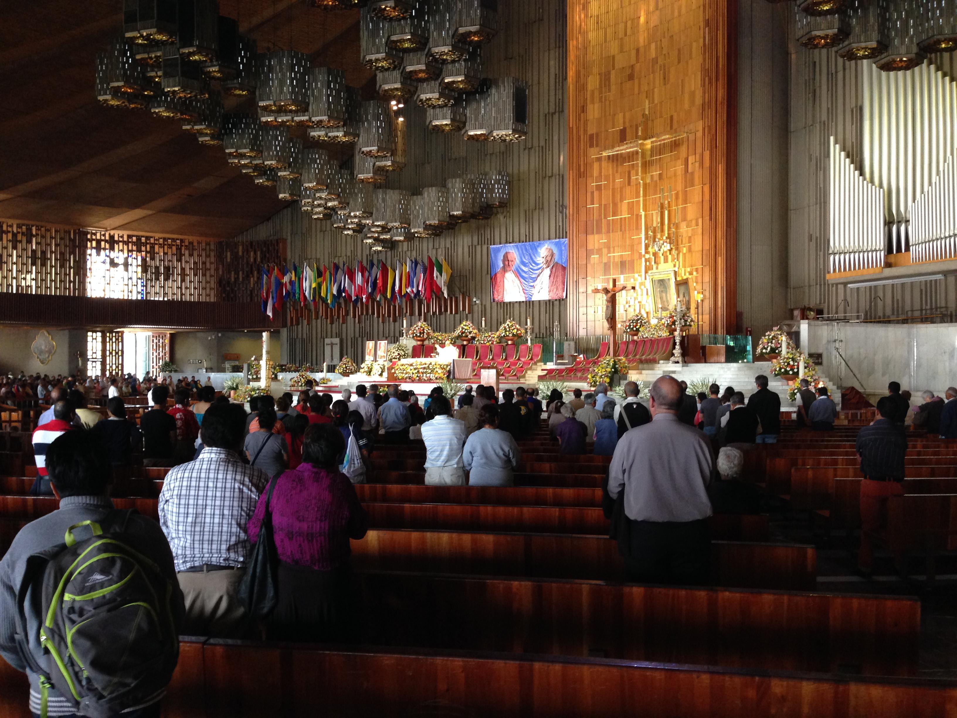 Altar principal de la nueva