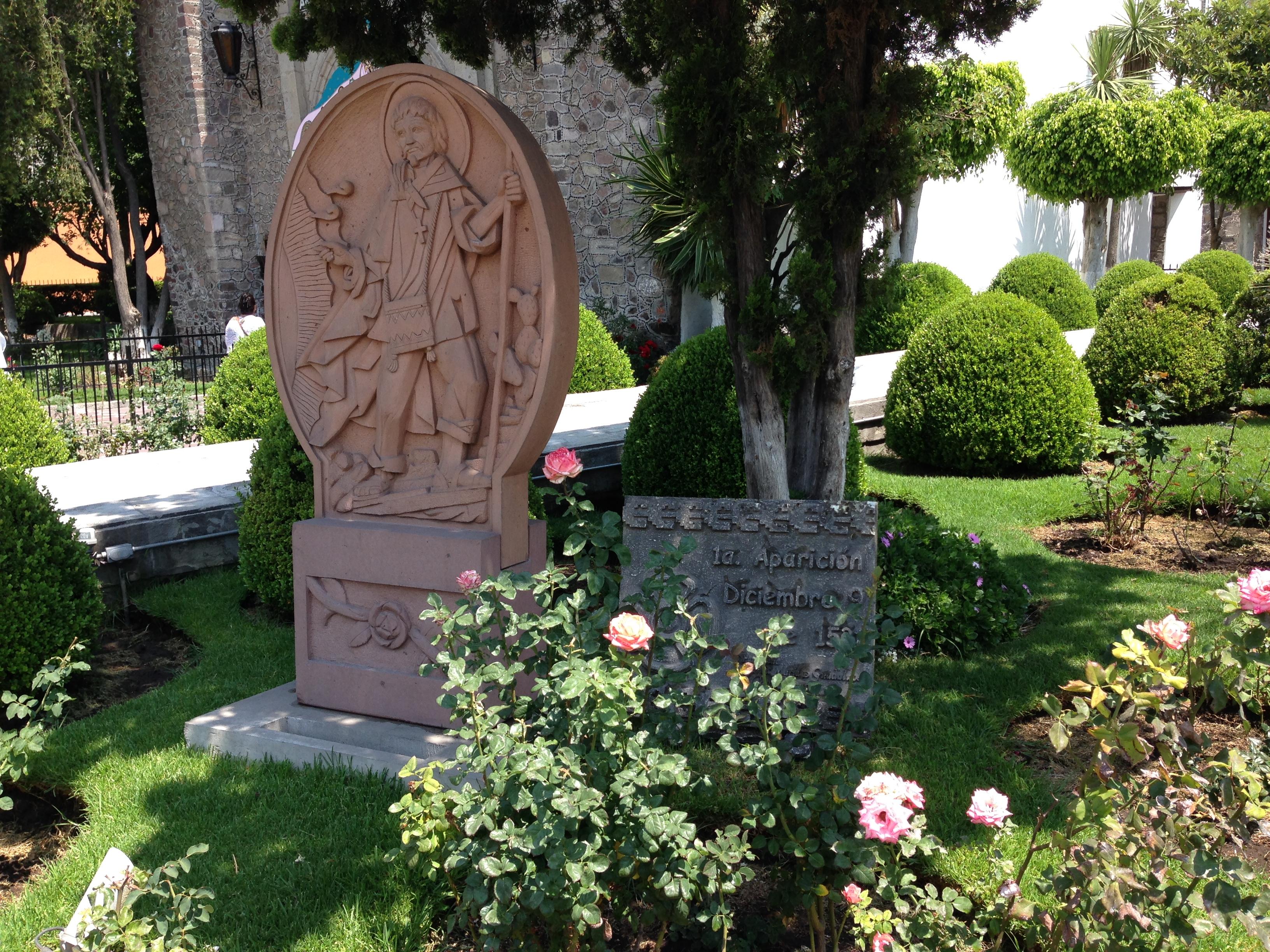 Aquí fue donde la Virgen se apareció al indígena Juan Diego por primera vez de las cuatro que lo hizo