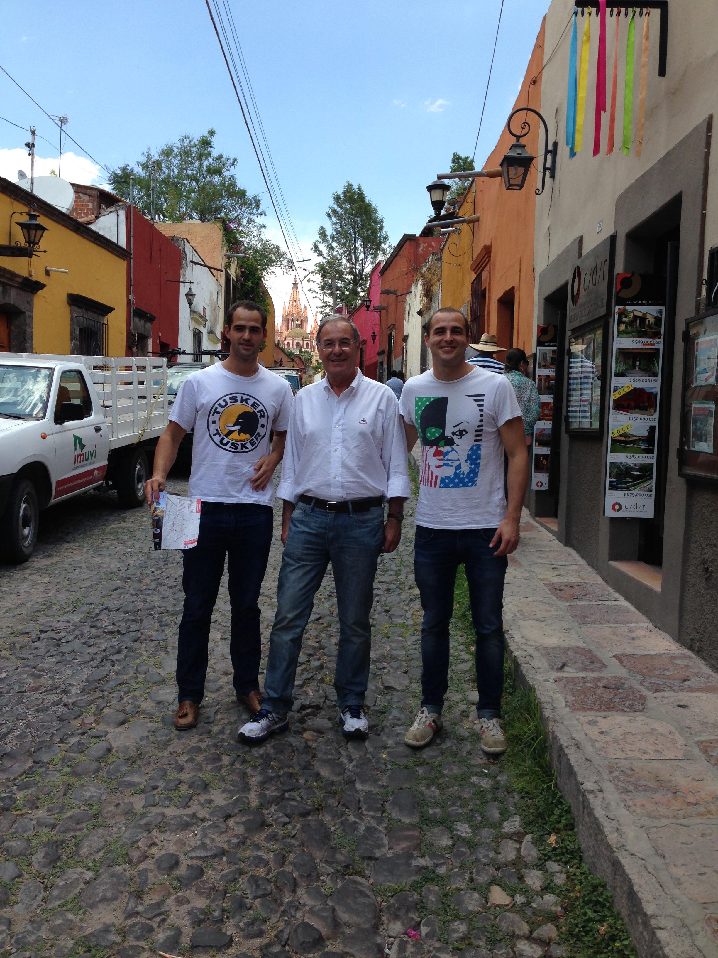 Calle típica de San Miguel de Allende