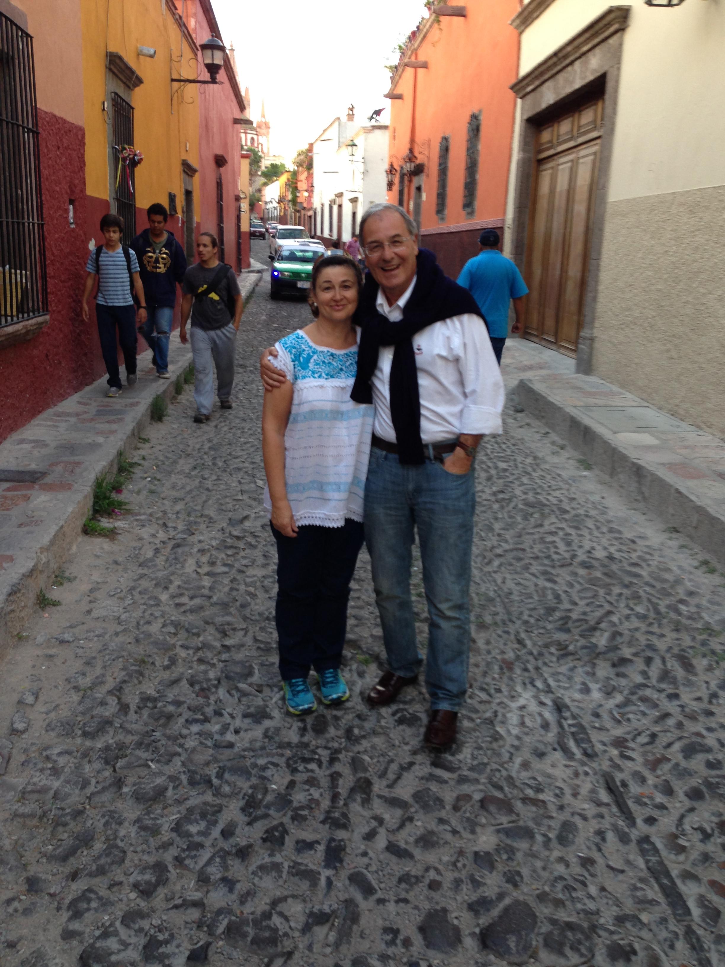 Otra típica calle de San Miguel