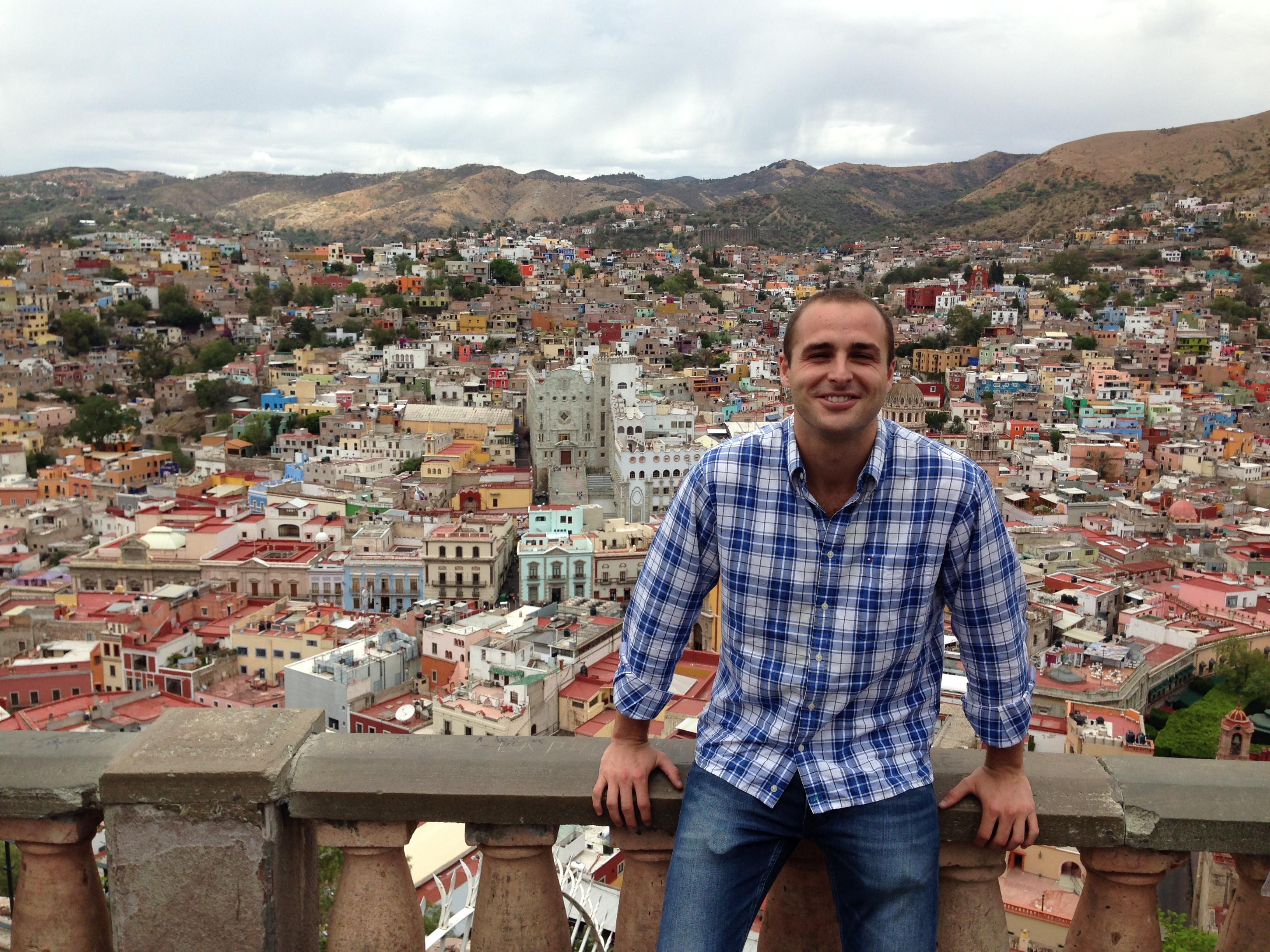 Espectaculares vistas de Guanajuato