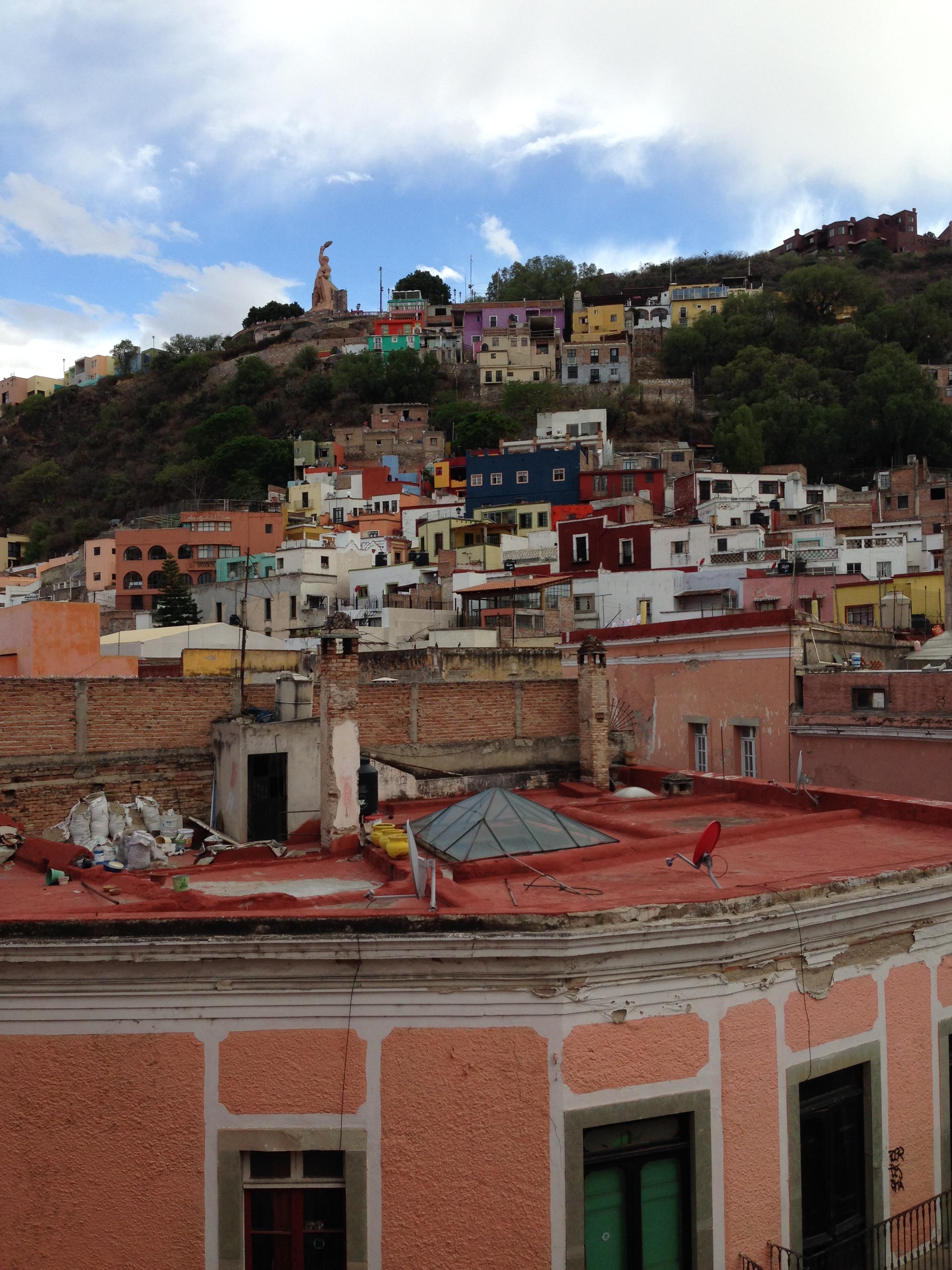 Casas típicas de Guanajuato