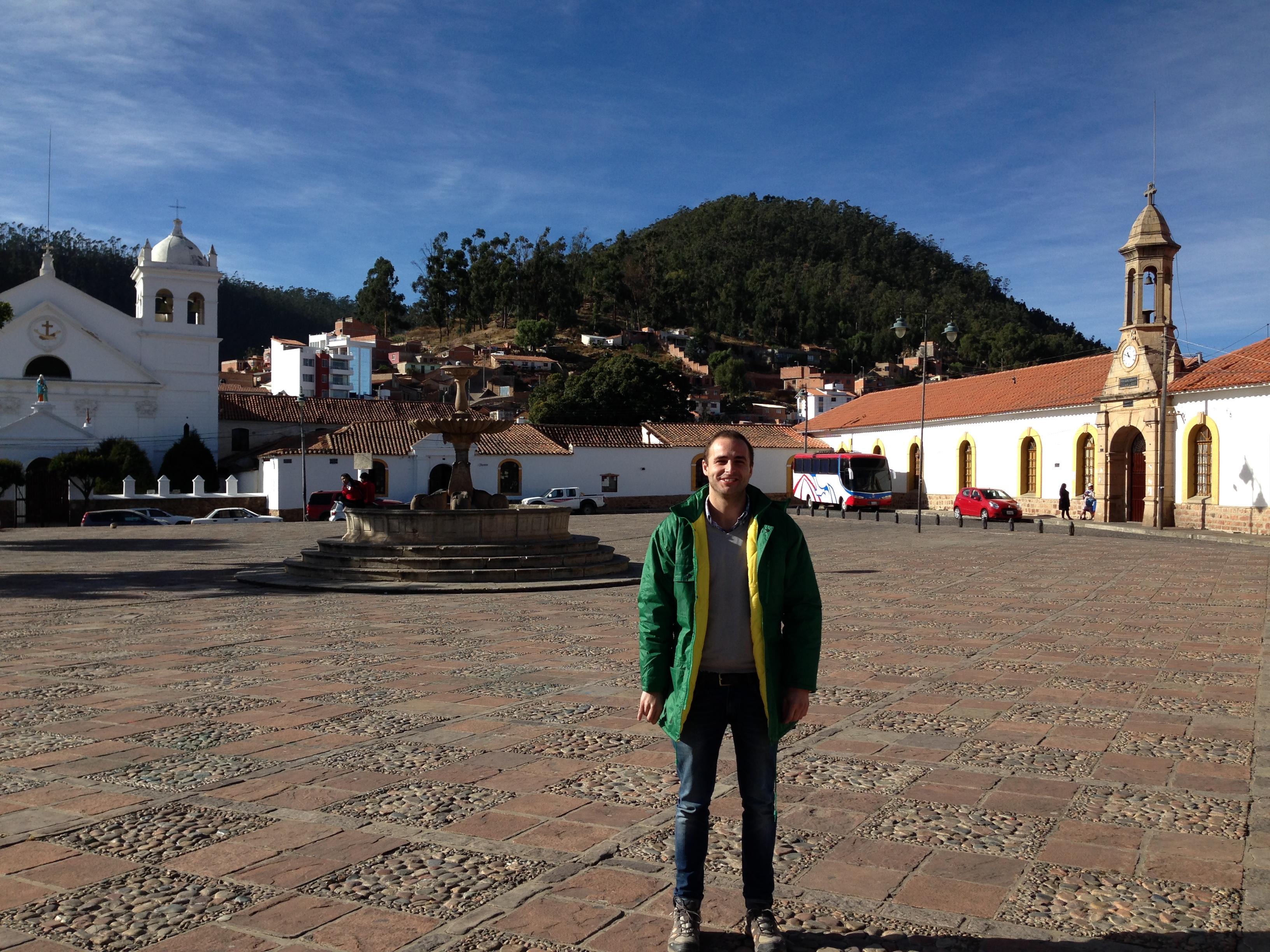 Plaza típica de Sucre