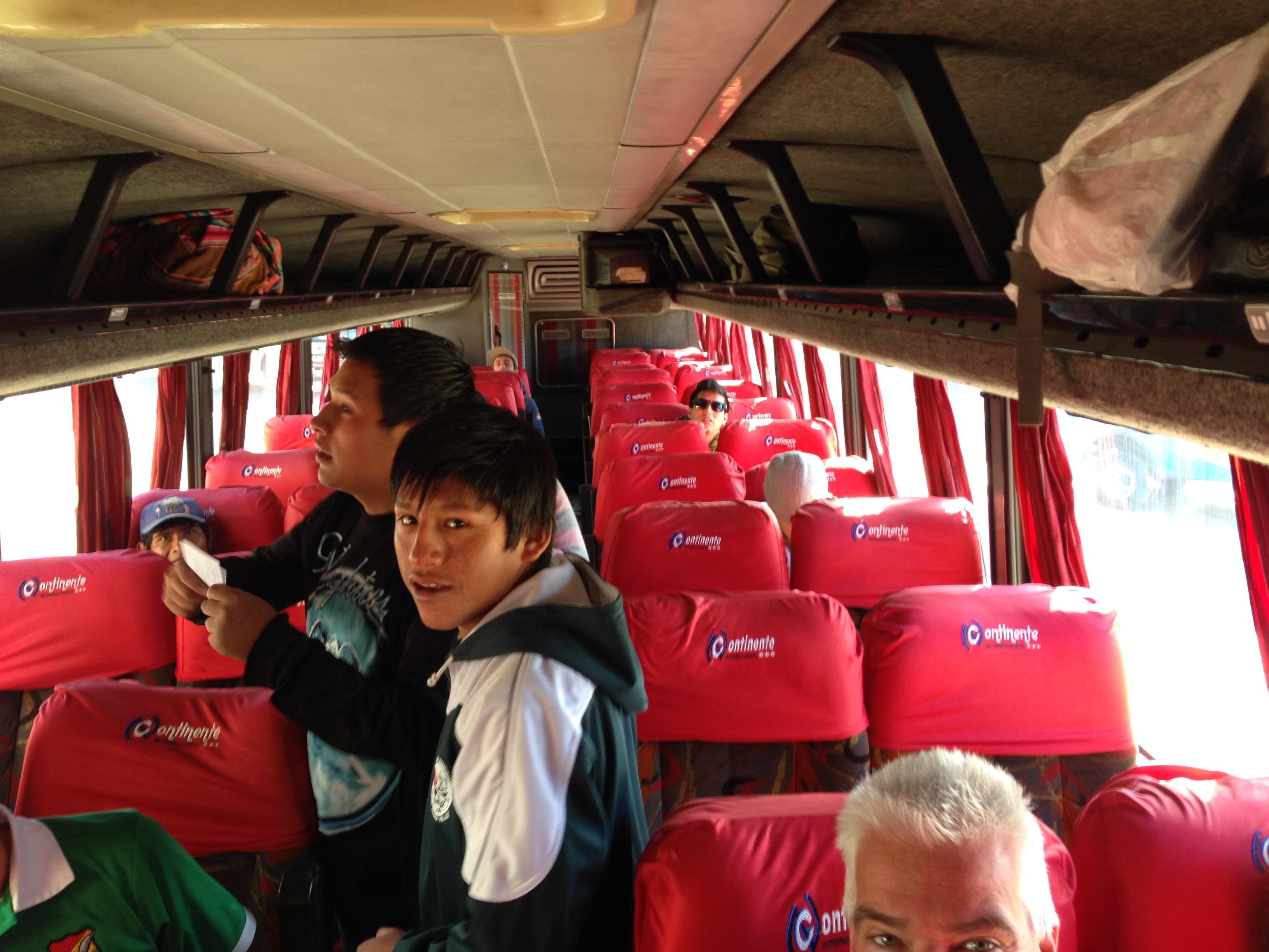 Autobús que me llevó hasta Uyuni