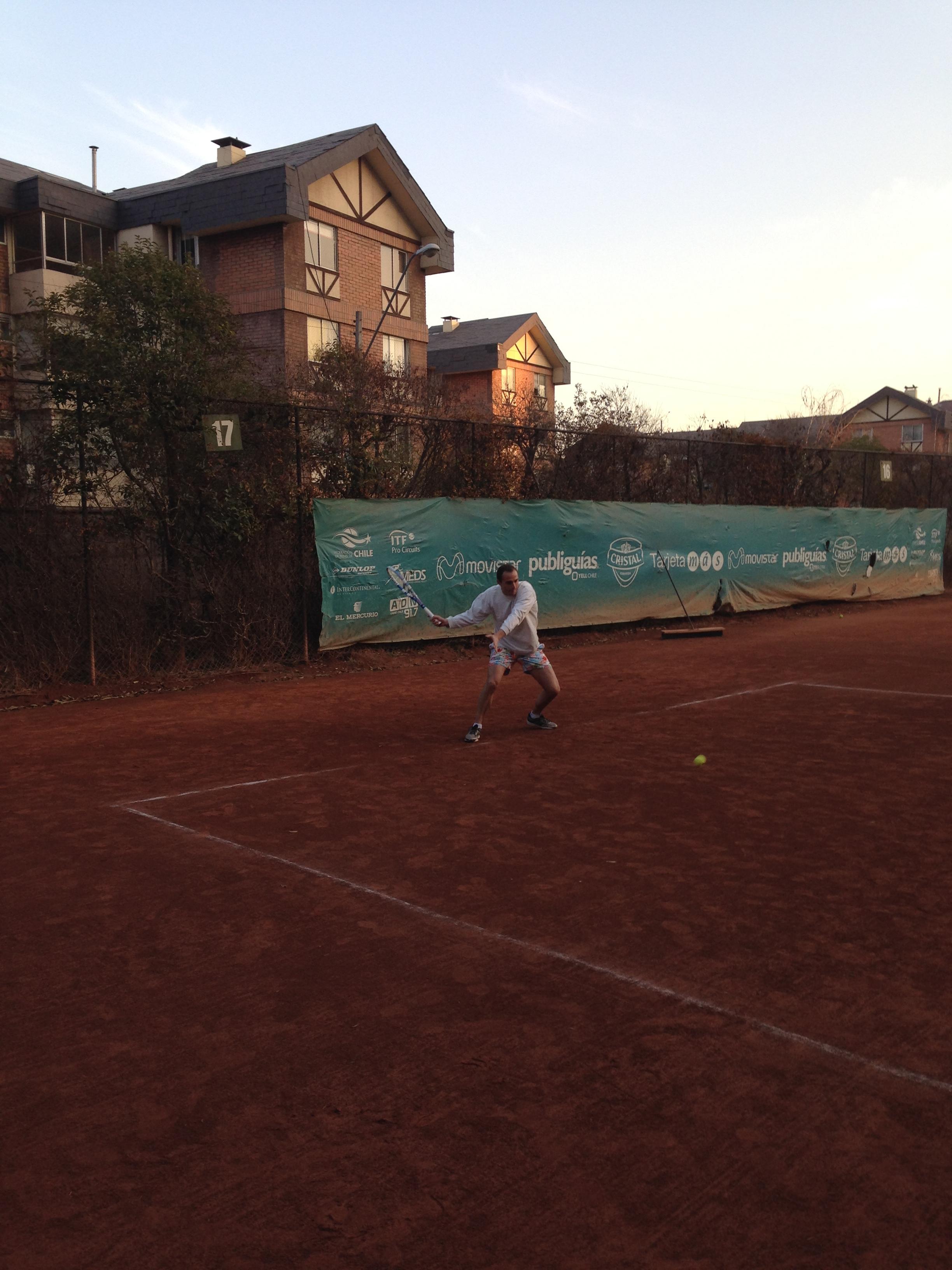 Día de tenis en Santiago