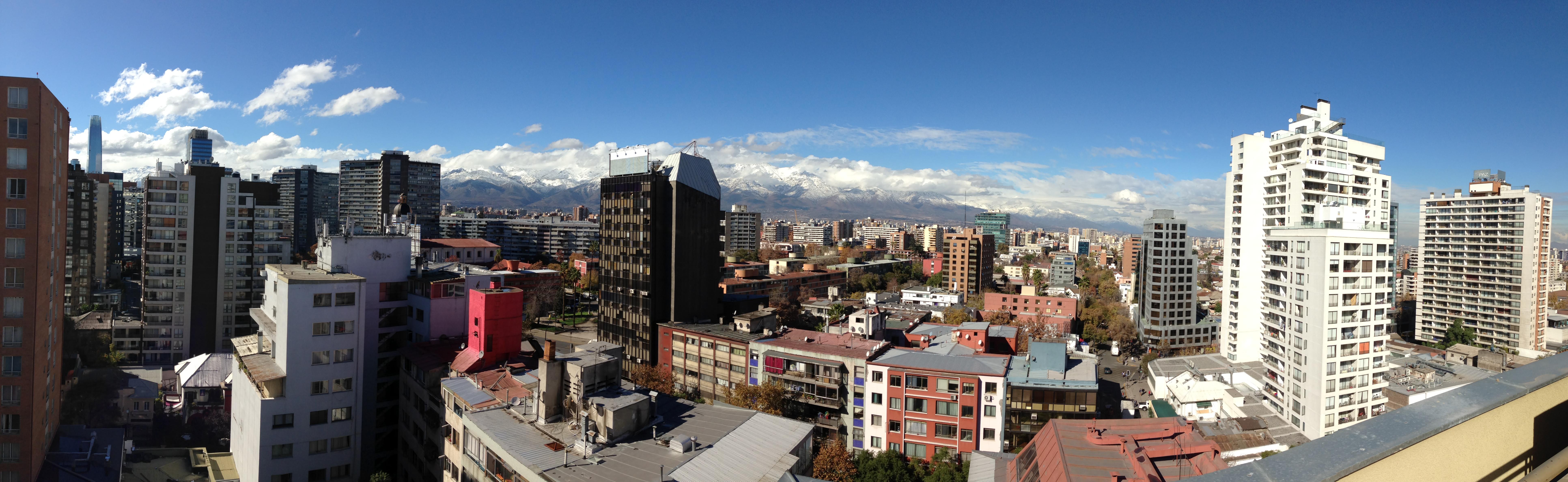 Vistas de Santiago de Chile