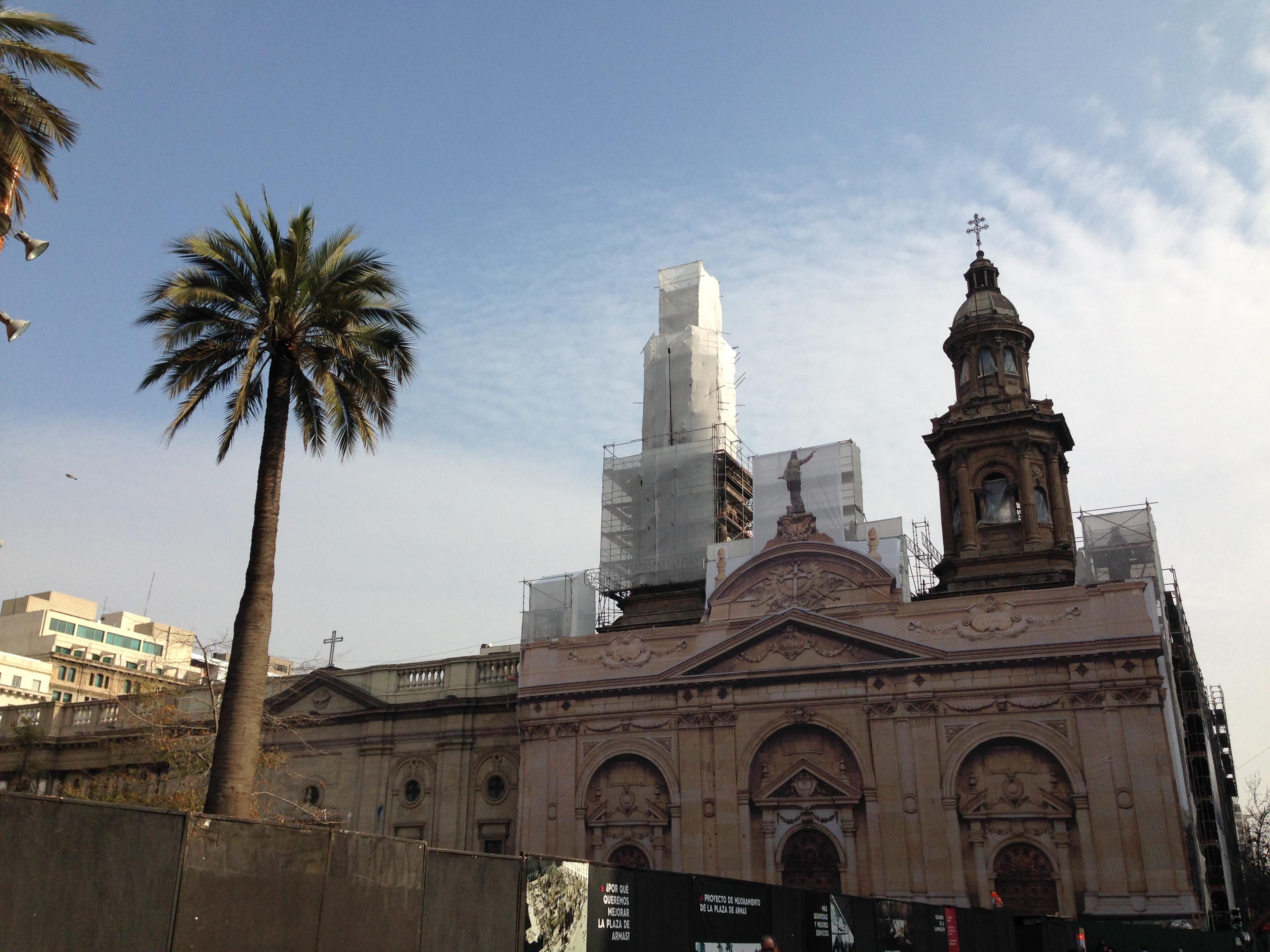 Catedral de Santiago desde fuera